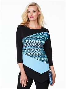 Dimmity Mix Print Tunic