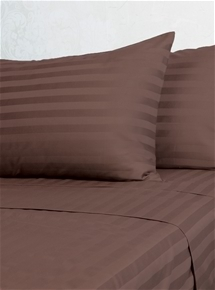 1000TC American Pima Cotton Sateen Stripe Sheets