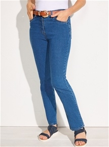 Fit & Flatter Denim Jeans