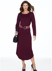 Scando Bordeaux Dress