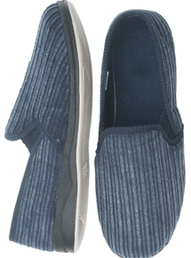 Mens Cord Slipper
