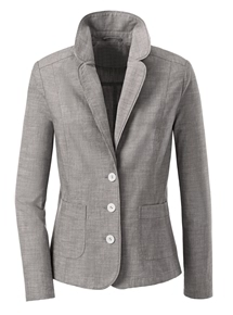 Crisp Cotton Blazer