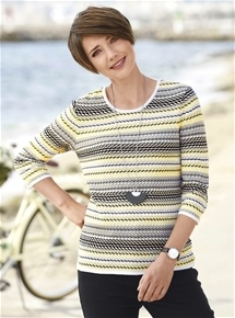 Sunshine Stripe Sweater