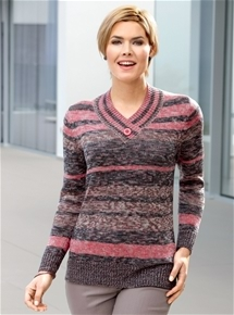 Spice Stripe Sweater