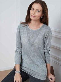Cashmere Silk Sweater