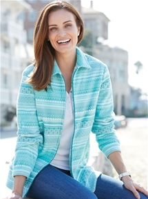 Mosaic Fleece Jacket