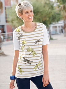 Dragonfly Two Pack Tee & Cami