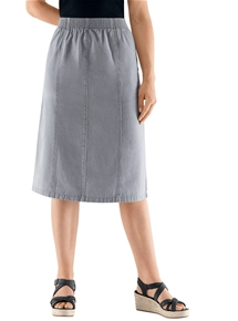 Super Comfort Denim Skirt