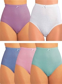 Pack of 5 Rib Briefs