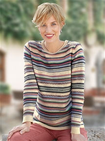 Spice Striped Sweater