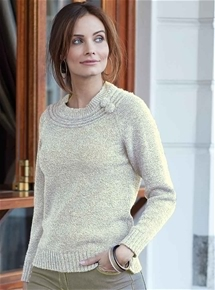 Ornate Basque Sweater