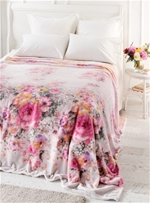 Floral Watercolour Blankets