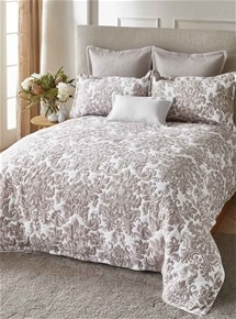 Riviera Stone Quilt Cover Set