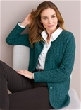 Thermal Cable Knit Cardigan_1801_1