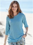 Pointelle Sweater_19D26_0