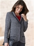 Thermal Knitted Blazer_19F10_0