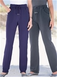 2 Pack Fleece Pants - Short Length_19J01_1