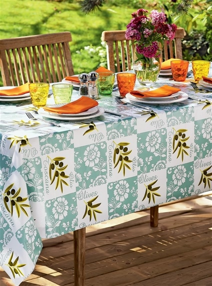 Free Gift - Large Printed Outdoor Table Cloth
